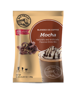 Big Train Mocha Blended Ice Coffee Mix (3.5 lbs), P6026