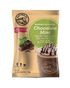 Big Train Chocolate Mint Blended Ice Coffee Mix (3.5 lbs), P6031