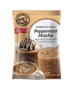 Big Train Peppermint Mocha Blended Ice Coffee Mix (3.5 lbs), P6035