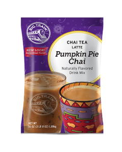 Big Train Pumpkin Pie Chai Tea Latte Mix (3.5 lbs), P6037