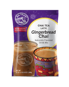 Big Train Gingerbread Chai Tea Latte Mix (3.5 lbs), P6038