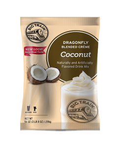Big Train Dragonfly Coconut Blended Creme Frappe Mix (3.5 lbs), P6050