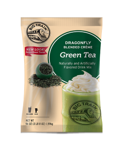 Big Train Dragonfly Green Tea Blended Creme Frappe Mix (3.5 lbs), P6051