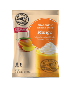 Big Train Dragonfly Mango Blended Creme Frappe Mix (3.5 lbs), P6053