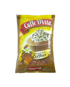 Caffe D'Vita Caramel Latte Blended Ice Coffee (3.5 lbs), P7004