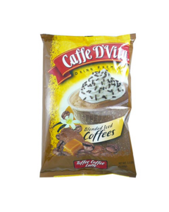 Caffe D'Vita Toffee Coffee Latte Blended Ice Coffee (3.5 lbs), P7006