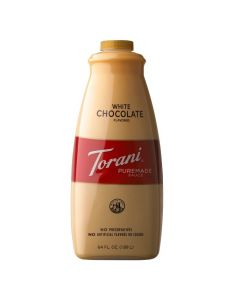 Torani White Chocolate Puremade Sauce 64oz