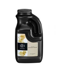 1883 Maison Routin White Chocolate Sauce (64 fl oz)