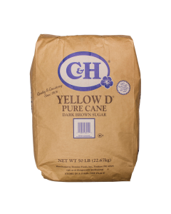 C&H Yellow D Dark Brown Sugar - 50 lb