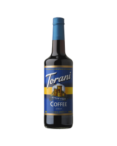 Torani Sugar Free Coffee Syrup (750mL), G-Coffee-sf
