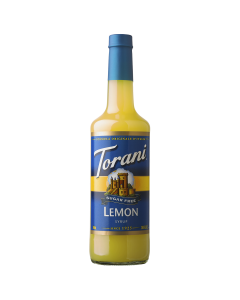 Torani Sugar Free Lemon Syrup (750 mL), G-Lemon-sf