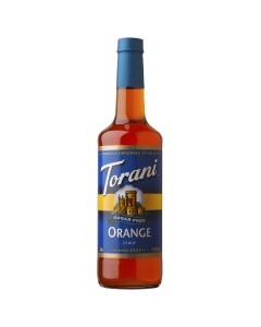 Torani Sugar Free Orange Syrup (750 mL), G-Orange-sf
