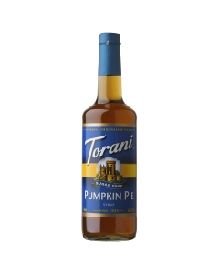 Torani Sugar Free Pumpkin Pie Syrup (750 mL), G-Pumpkin Pie-sf