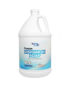 Total Clean Premium Dish Wash Soap (1 gal) - 4 ct, TC-DS200