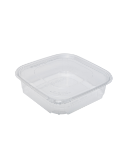 Karart 48oz PET Tamper Resistant Deli Container with Flat Lid