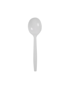 Karat PP Premium Extra Heavy Soup Spoon - White - 1,000 ct
