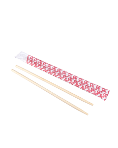 "Karat 9"" Paper Wrapped Bamboo Chopsticks - Dynasty, U9001"