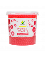 Tea Zone Strawberry Popping Pearls (7 lbs)