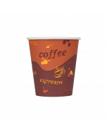 Karat 10oz Paper Hot Cups - Coffee (90mm) - 1,000 ct, C-K510