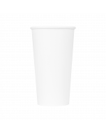 Karat 20oz Paper Hot Cups - White (90mm) - 600 ct