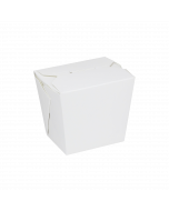 Karat 16oz Food Pail / Paper Take-out Container - White - 450 ct, FP-FP16W