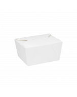 Karat 30 fl oz. Fold-To-Go Box #1 - White - 450 ct, FP-FTG30W