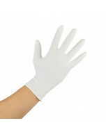 Karat Latex Powdered Gloves (Clear) - Small - 1,000 ct, FP-GL1011