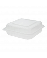 """Karat 9""""x 9"""" PP Hinged Containers - 200 ct"""