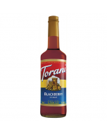 Torani Blackberry Syrup (750 mL), G-Blackberry