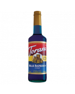 Torani Blue Raspberry Syrup (750 mL), G-Blue Raspberry