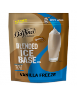 DaVinci Vanilla Freeze Frappe Base Mix (3 lbs) - Formerly Caffe D'Amore, P7200