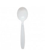 Karat PS Extra Heavy Weight Soup Spoons - White - 1,000 ct, U2022W