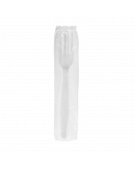 Karat PP Heavy Weight Forks - White - Wrapped - 1,000 ct, U3530W