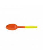 Karat PP Medium Weight Color Changing Tea Spoons - Yellow to Orange - 1,000 ct, U4000 (YLOR)