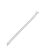 Karat 7.75'' Giant Straws (8mm) Paper Wrapped - Clear - 7,500 ct, C9130