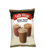 Caffe D'Vita Double Mocha Latte Blended Iced Coffee (3.5 lbs), P7001