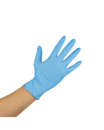 Karat Nitrile Powder-Free Gloves (Blue) - Large - 1,000 ct, FP-GN1028