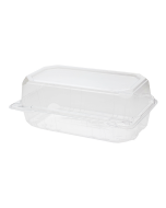 "Karat 9"" x 5"" PET Hinged Containers - 250 ct"