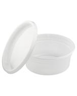 Karat 8oz PP Injection Molded Deli Containers & Lids - 240 ct, FP-IMDC8-PP