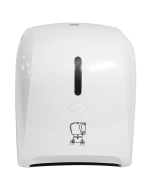 Autocut Manual Hand Towel Roll Dispenser - White, JSD-5300-5-1