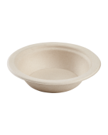 Karat Earth 12 oz (350ml) Bagasse Bowl, Round, Natural - 1,000 ct