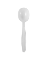 Karat PP Extra Heavy Weight Soup Spoons - White - 1,000 ct, U2032W