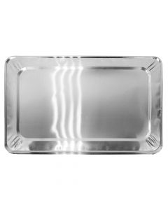 Karat Full Size Aluminum Foil Steam Table Pan Lids, AF-STPL01