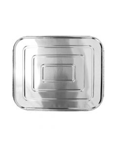 Karat Half Size Aluminum Foil Steam Table Pan Lids, AF-STPL03