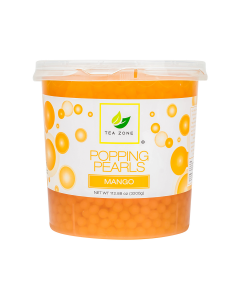 Tea Zone Mango Popping Pearls (7 lbs)