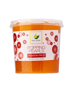 Tea Zone Passion Fruit Popping Pearls (7 lbs)