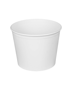 Karat 85oz Food Buckets (White) - 180 ct