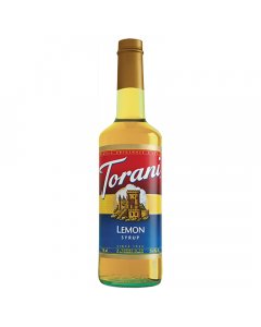 Torani Lemon Syrup (750 mL), G-Lemon