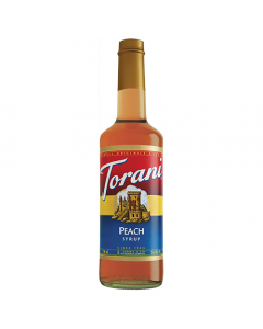 Torani Peach Syrup (750 mL), G-Peach