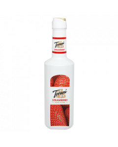 Torani Strawberry Puree Blend (1L), G-Puree Blend (Strawberry), 1L